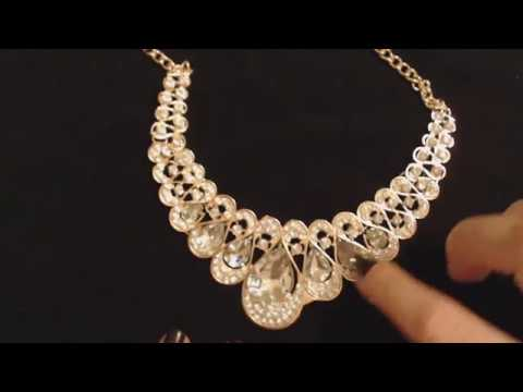 ASMR Whisper ~ Up-Close Jewelry Shopping Haul Show & Tell