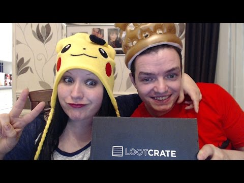 LOOTCRATE UNBOXING - SUMMONING & FANTASY WITH NATHAN123 & WIN LOOTCRATE PRIZE!