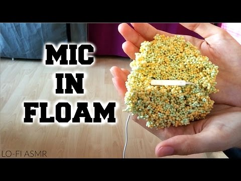 ASMR ♥ Microphone IN Floam | Satisfying Sounds