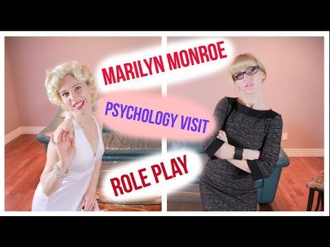 [ASMR] * Famous and Sleepless * Psychology visit role play with Marylin Monroe (reupload)
