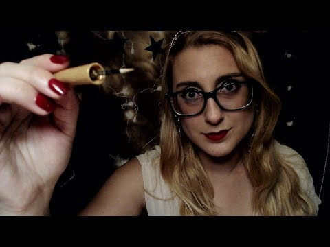 Queen Sally Does Your Make-up ASMR | Makeup Role Play | Repeating Phrases |Tongue Clicking | Whisper