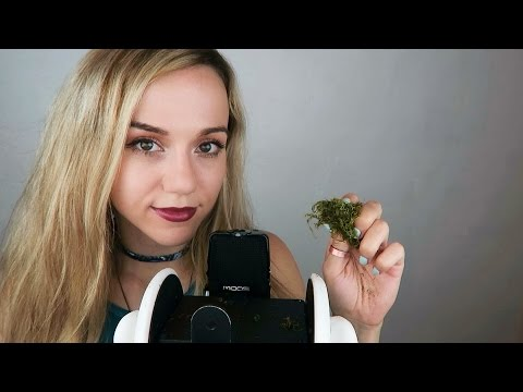 ASMR Ear to Ear Whispers and Moss Sounds 🤗 Special Announcement