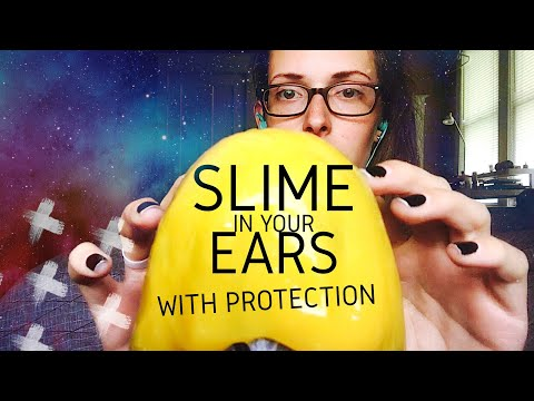 SLIME IN YOUR EARS with a protective layer!