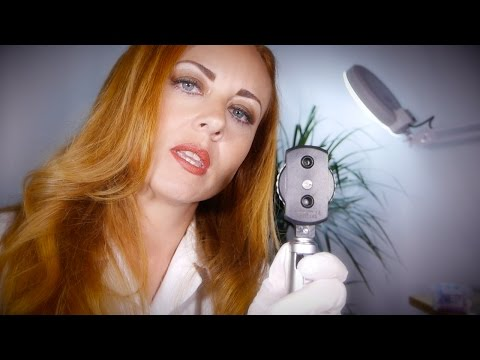 Relaxing Doctor Visit   ASMR Full Body Exam with Ear Cleaning