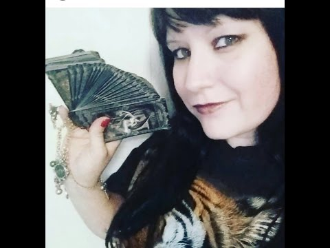 Asmr - Show & Tell - Gothic Goodies from GlitterGoth - Tarot Cards / Bracelet
