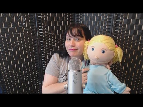 Asmr - Me and Penny the Doll giving you tingles! *cute weird tingly*