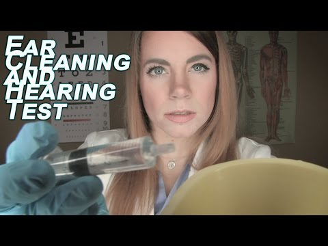 Medical ASMR - Fizzy Ear Cleaning and Treating Your Vertigo (Role Play) - New Mics!