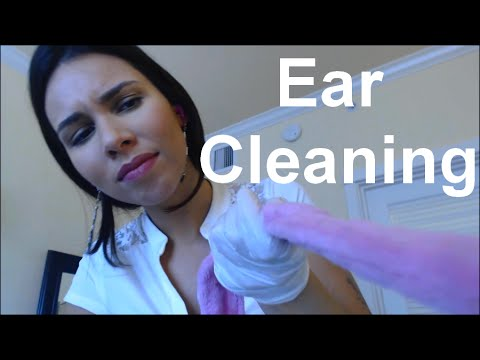 ASMR - Inappropriate things in your ears! (Latex gloves, Lotion, Secretary)