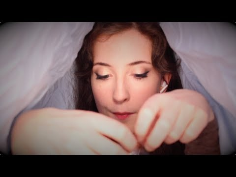 Blanket Fort ASMR: Part Two! (Cosy Fabric Sounds, Blowing Bubbles, Scottish Accent)
