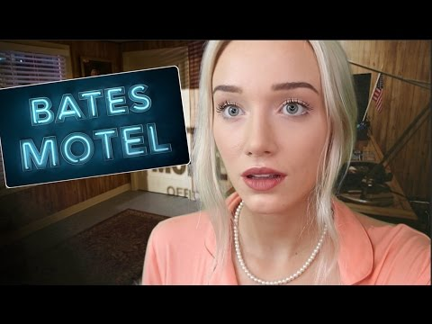 ASMR Bates Motel Check In | GwenGwiz