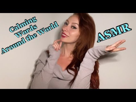 ASMR Tingly Dreamy Whispered Words in Other Languages