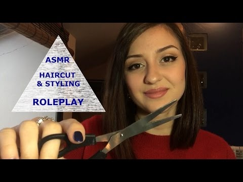 ASMR Haircut Roleplay - Relaxing