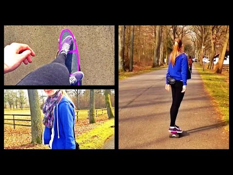 Short Relaxing Vlog: Cruising in Germany ☀☁ Pennyboard