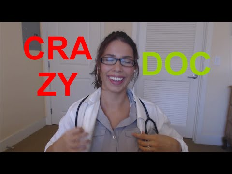 ASMR Inappropriate Doctor Visit! Ear cleaning, Soft Spoken, Heartbeats, Sound Effects, Brushing