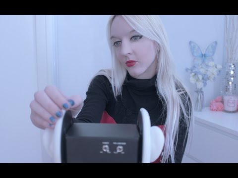 ASMR Tapping & Scratching ♡ Ear to Ear, 3Dio Ear Tapping, Case Tapping (No Talking)