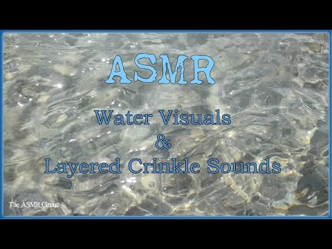 ASMR Water Visuals & Layered Crinkle Sounds for Relaxation & Sleep