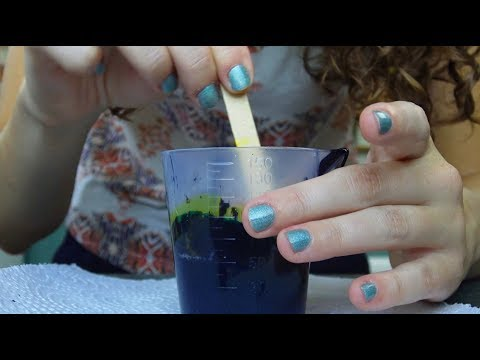 ASMR Soap Making - Mixing, Pouring, Crinkling, Paper Sounds