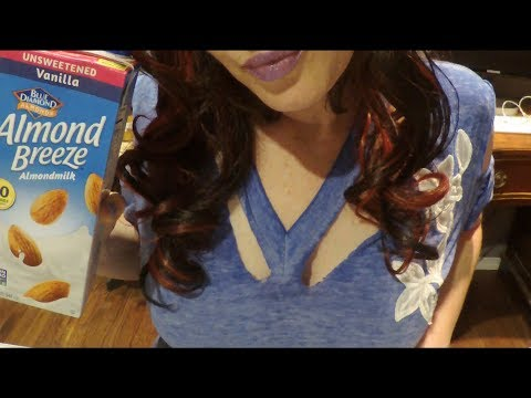 ASMR Gum Chewing Girlfriend Annoys You & Gets You Fit.  Whispered Role Play