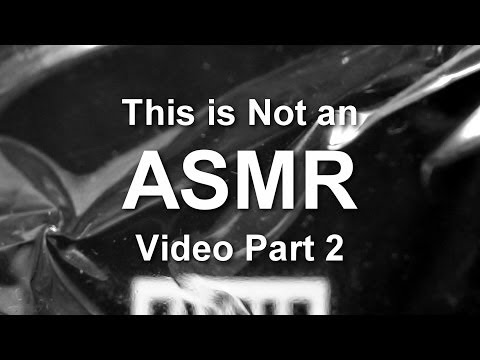 This is Not an ASMR Video Part 2 and The Peculiar Plastic Pouch Predicament Part 13 [ ASMR ]