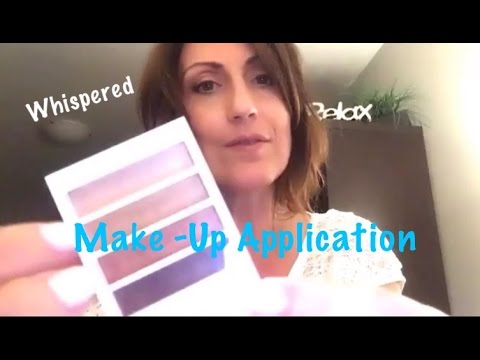 ASMR Whispered Make-Up Application for Relaxation | Tingly Sounds | Calming