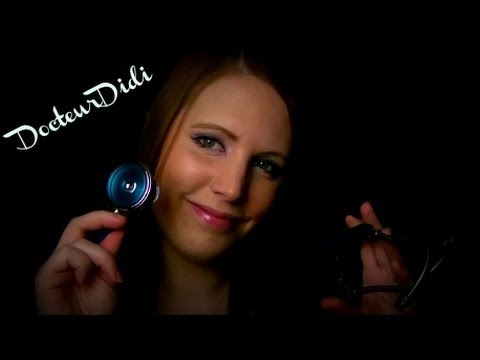 Doctor roleplay in French - ASMR - Blood Pressure , Heart Check - Close Attention