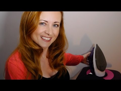 Ironing for Relaxation   Steamy ASMR Sounds for Tingles & Sleep   Soft Spoken