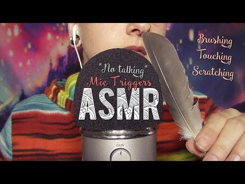 ASMR Français  ~ MIC TRIGGERS [Scratching, touching, Brushing] *No Talking*