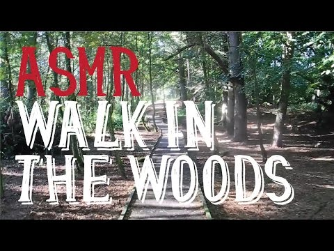 ASMR Walk in the Woods in Early Autumn (with Whisper Rant)