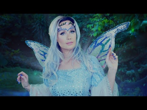 ASMR Fantasy Role Play Tinglebelle the Sleep Fairy ( tingly personal attention)