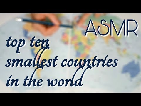 ASMR Top 10 Smallest Countries (By Geographic Area)