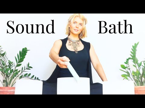 Ear to Ear Sound Bath/Singing Bowl Alignment for Crown, Heart and Root Chakras/Reiki Master Healer