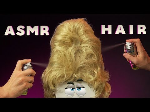 ASMR HAIRCUT OF YOUR LIFE - Scissors, Blow Dry, Water Spritzing, Hair Brushing