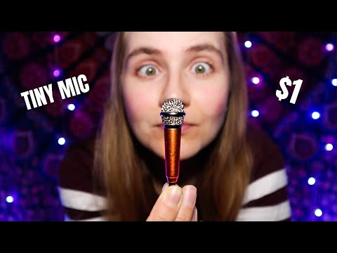 ASMR with A Tiny $1 Microphone