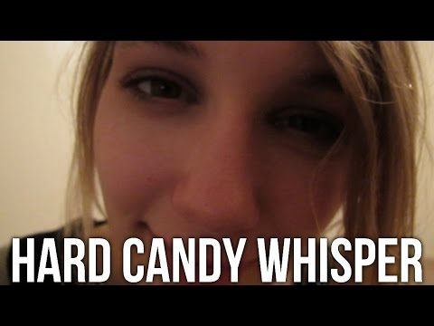 [BINAURAL ASMR] Ear-to-Ear Hard Candy Whisper (left/right side, sk, inaud/unint, mouth sounds)