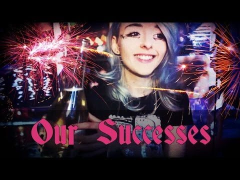A Toast To Our Successes :: Champagne, Sparklers and Soft Speaking :: End Of The Year ASMR Special