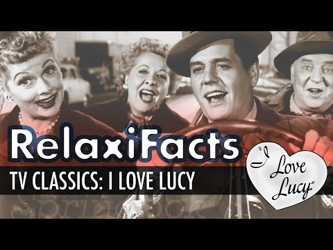 RelaxiFacts: The History of I Love Lucy Part 2 | ASMR