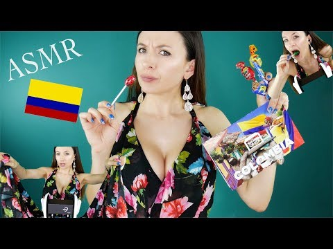Trying Colombian Snacks *ASMR