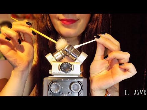 ASMR Intense EAR CLEANING Sound [No Talking] *zoom h6*