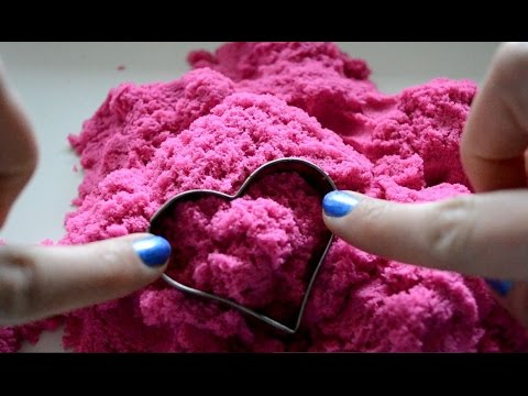 ASMR Kinetic Sand Crunch Galore . Intense Grainy Close Up Sounds & Visuals