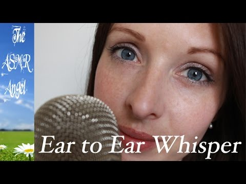 ASMR Close Up Ear to Ear Whispering - Don't Sweat the Small Stuff 15-18