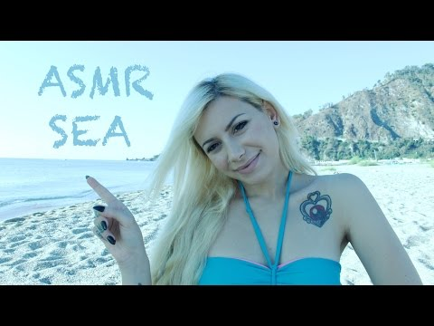 ASMR a Day at the Beach with Ellie Alien