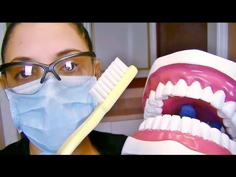 Smile! A 3D Binaural Dental Assistant Teeth Cleaning ASMR Role Play For Relaxation And Sleep