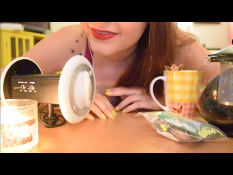 """ASMR SimpliciTea! Soft Spoken and Whispered """"Back to Basics"""" Tapping and Crinkle Ramble"""