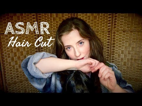 ASMR Deluxe Haircut and ✨Cosmic✨ Head Massage