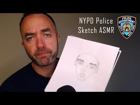 New York Police Sketch Artist ASMR.
