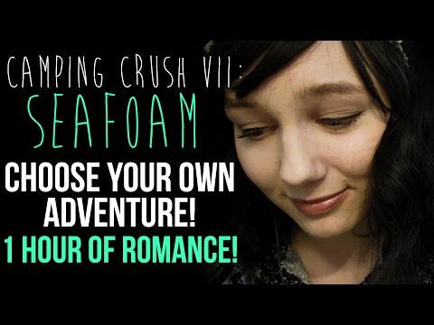 ASMR Camping Crush VII: Seafoam | 1 HOUR of Footage! | More Choices! | Ocean Sounds
