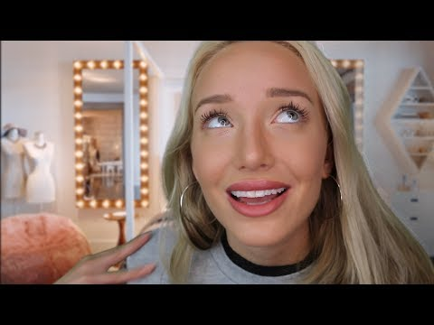 ASMR Bitchy Popular Girl - New Step Sis Roleplay (House rules & fixing your face)   GwenGwiz