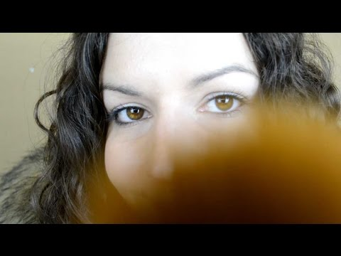ASMR - Face Brushing, Close up, Personal Attention