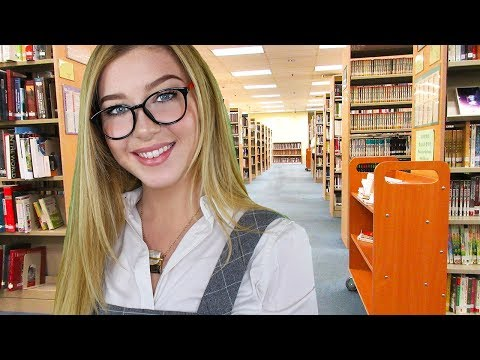 ASMR Library Softly Spoken Book Discussion Roleplay