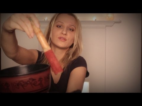 The Amazing sound of SINGING BOWLS! Binaural ASMR soft spoken *relaxation and healing*